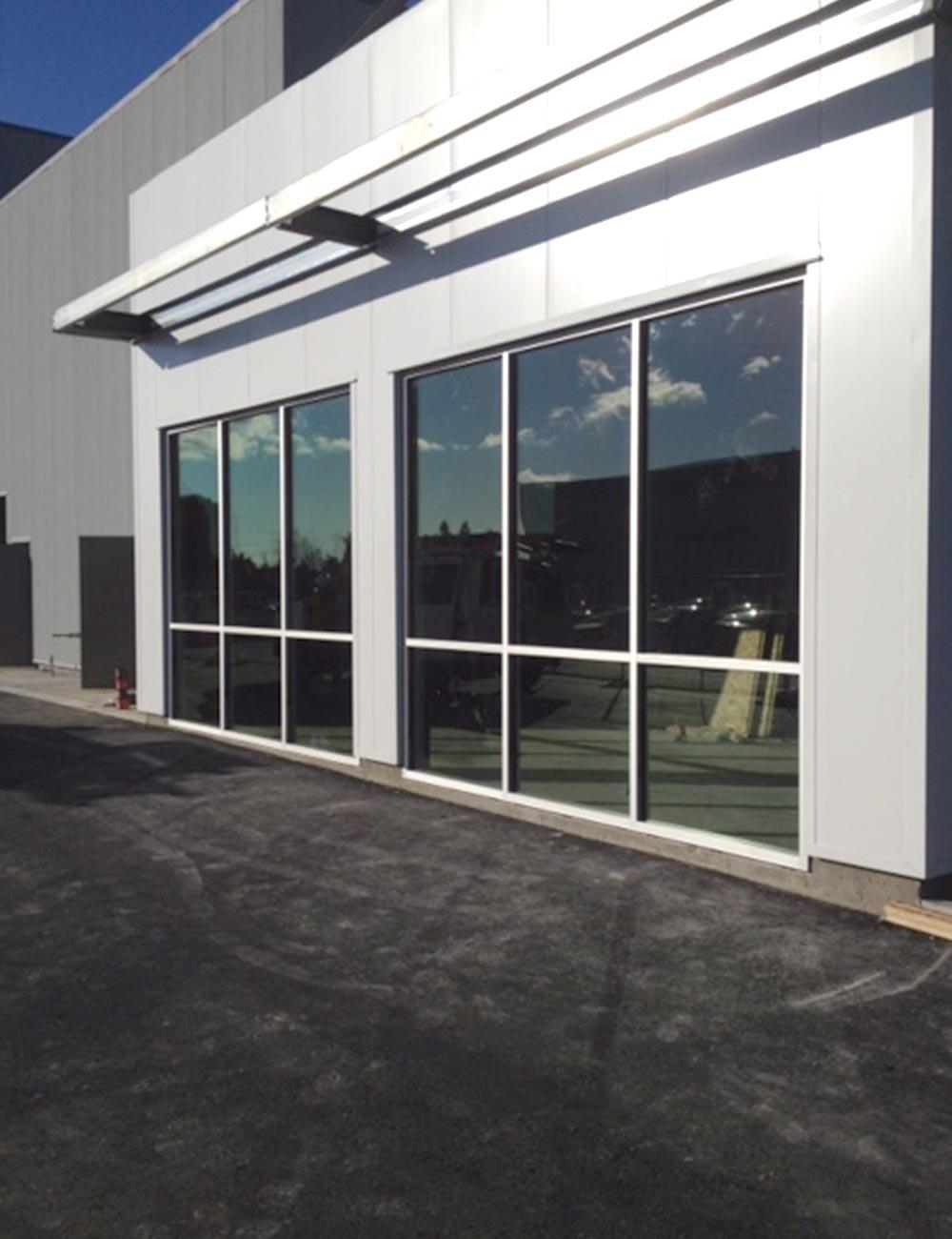 Kia Fiat Glass Office Windows